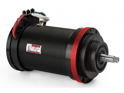 1700rpm 540W 74V Brushed DC Motor