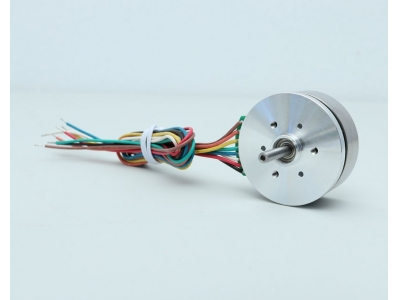 24V 50W 6710RPM Disc Rotor Brushless DC Motor