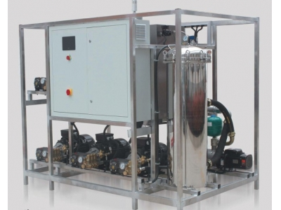 Central Integrated Spray Cleaning Machine