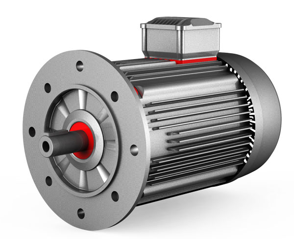 Permanent magnet DC motors in pumps