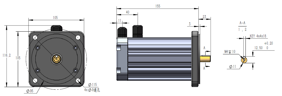 Sensored 12v 0.5hp 3000rpm Bldc Motor.png