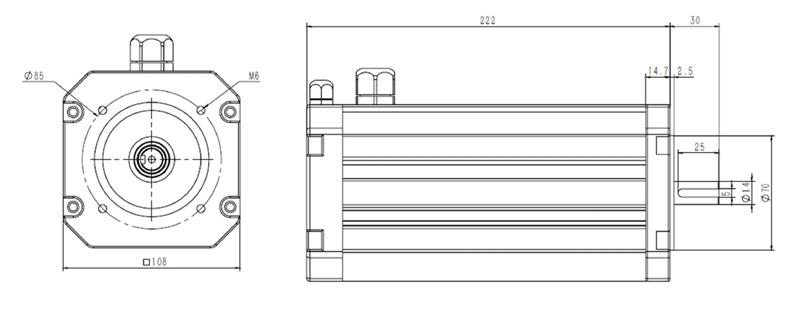 48V High Torque Hall Sensor EV Motor.jpg