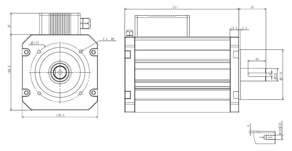 251mm 48V 4000W 2580rpm BLDC Motor.jpg