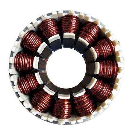 motor stator and rotor